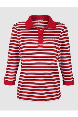 Dress In Damen Poloshirts - Poloshirt in Streifenoptik