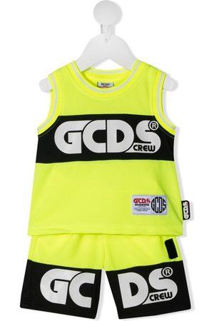 GCDS Jogginganzug mit Logo-Print