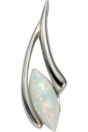 vivance collection Kettenanhänger »925/- Sterling Silber rhodiniert Opal«, Anhänger