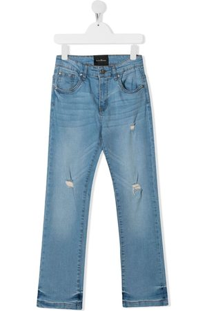 John Richmond Junior TEEN Jeans mit Logo-Print