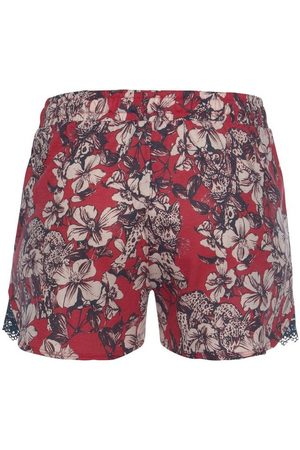 Schiesser Damen Schlafanzüge - Pyjamashorts allover geblümt
