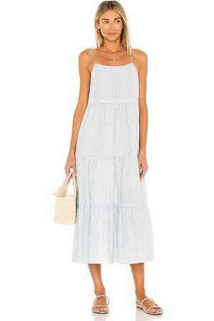 Saylor Posey Midi Dress in ,Ivory. Size S, XS, M.