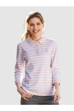 Dress In Poloshirt in Streifenoptik