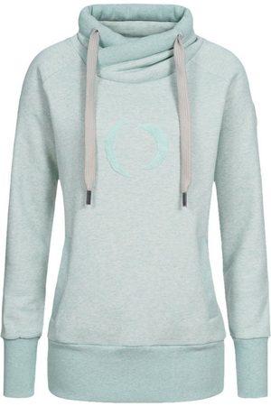 DEPROC-Active Kapuzensweatshirt »SWEAT ISLAY WOMEN« modischer Allover-Print