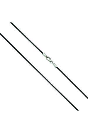 vivance collection Collier »925/- Sterling rhod. Kautschuk 50cm«, mit Geschenketui