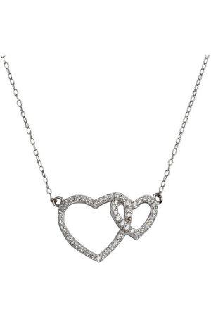 vivance collection Collier »925-/ Sterling rhodiniert Herz«, mit Geschenketui