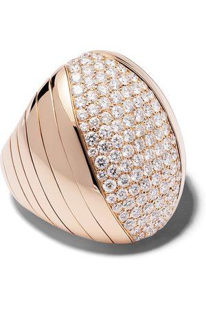 Mattia Cielo 18kt Rotgoldring mit Diamanten