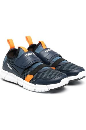 Geox Sneakers mit Kontrasteinsätzen