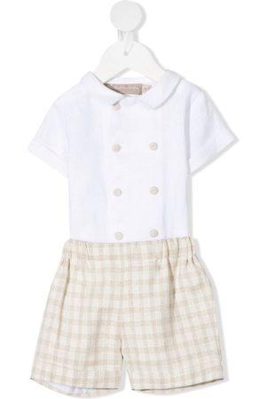 LA STUPENDERIA Leonardo Set aus Hemd und Shorts