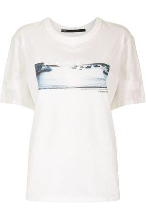 Muller Of Yoshiokubo Damen T-Shirts, Polos & Longsleeves - Sunset Glow T-Shirt