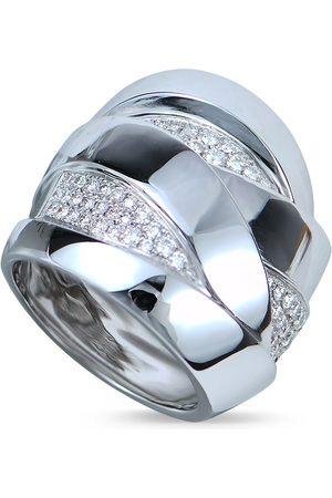 Mattioli 18kt Weißgoldring mit Diamanten