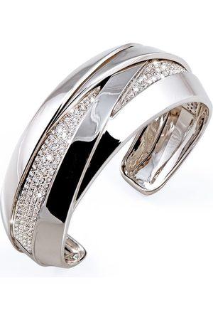 Mattioli Damen Armbänder - 18kt Weißgoldarmspange mit Diamanten