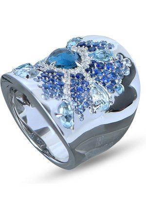 RODNEY RAYNER 18kt Rotgoldring mit Diamanten