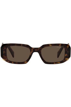 Prada Sonnenbrille mit geometrischem Gestell