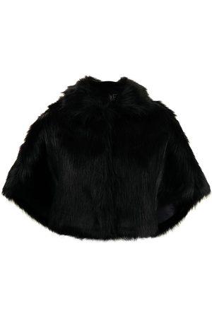 Unreal Fur Damen Jacken - Cape mit Faux Fur