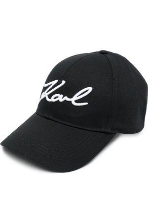 Karl Lagerfeld Baseballkappe mit Logo-Stickerei