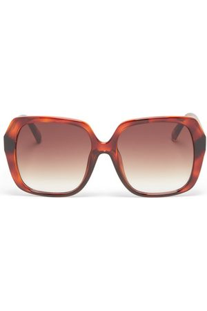 Le Specs Frofro Oversized Square Sunglasses