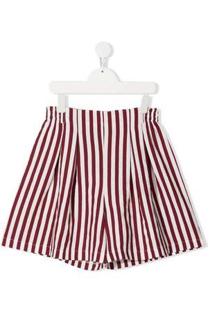 Monnalisa Gestreifte High-Waist-Shorts