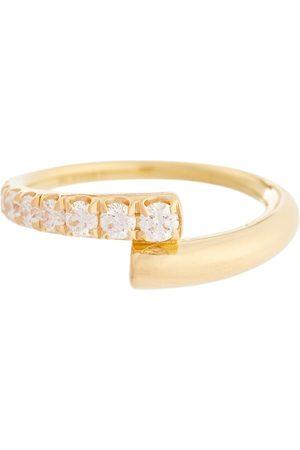 Melissa Kaye Ring Lola aus 18kt Gelbgold mit Diamanten