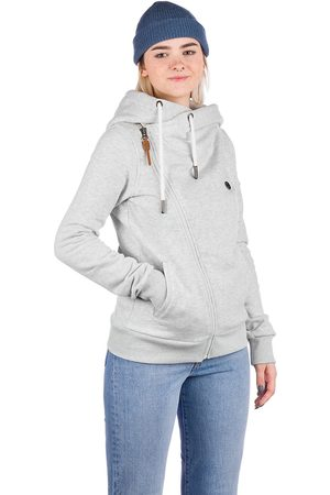 Kazane Damen Sweatshirts - Marte Zip Hoodie