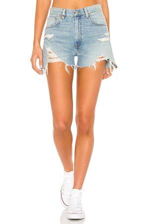 Denimist Damen Shorts - Nic MIdrise Cutoff in . Size 25, 26, 27, 28, 29, 30.