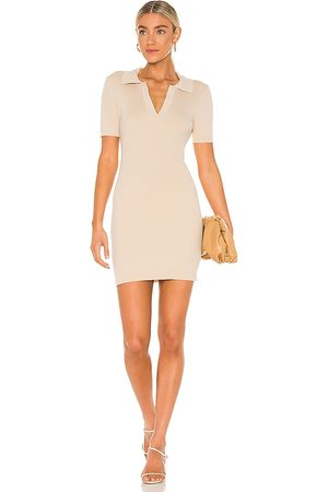 LINE & DOT Brittany Ribbed Mini Dress in . Size XS, S, M.