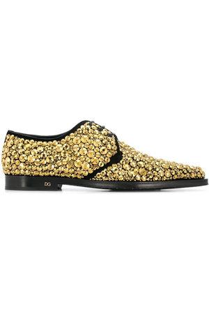 Dolce & Gabbana Derby-Schuhe mit Kristallen