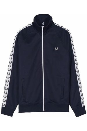 Fred Perry Taped Tracked Jacket Sweater , Herren, Größe: L