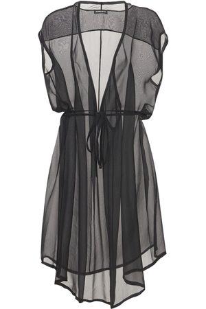 ANN DEMEULEMEESTER Damen Kleider - Kleid Aus Seidenmusselin