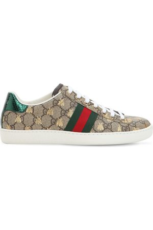 "Gucci 20mm Hohe Canvassneakers ""new Ace Gg Supreme"""