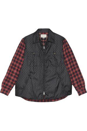 Gucci Hemdjacke mit Reißverschluss