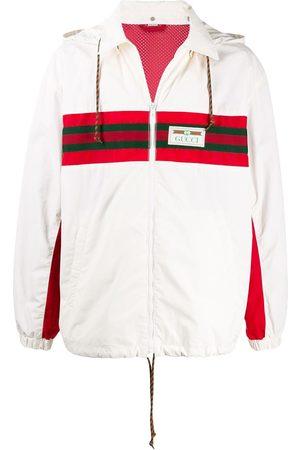 Gucci Herren Outdoorjacken - Jacke mit Webstreifen