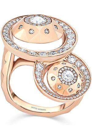 David Morris Damen Ringe - 18kt Rotgoldring
