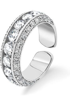 David Morris Damen Ringe - 18kt Weißgoldring mit Perle
