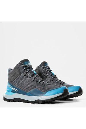 The North Face Activist Futurelight™ Halbhohe Wanderschuhe Für Damen Zinc Grey/maui Blue Größe 36 Damen