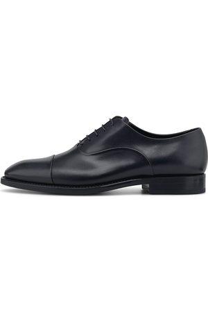 Franceschetti Herren Elegante Schuhe - Business-Schnürer in dunkelblau, Business-Schuhe für Herren
