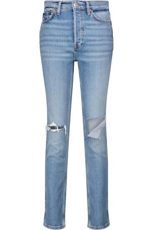 RE/DONE High-Rise Slim Jeans '80s