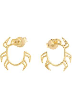 Aliita Damen Ohrringe - Ohrringe Escarabjo aus 9kt Gelbgold