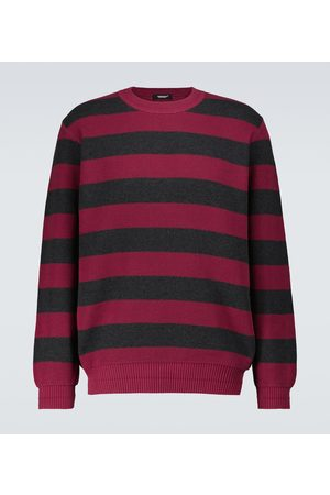 UNDERCOVER Gestreifter Pullover aus Baumwolle