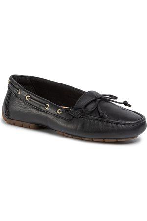 Clarks C Mocc Boat 261492704 Black Leather