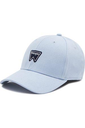 Wrangler Logo Cap W0U5U5XVT Cerulean Blue