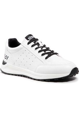 Keddo Damen Halbschuhe - 817389/01-01E White/Black