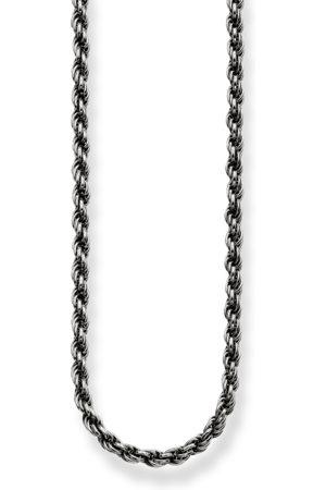 Thomas Sabo Damen Halsketten - Kordelkette Geschwärzt
