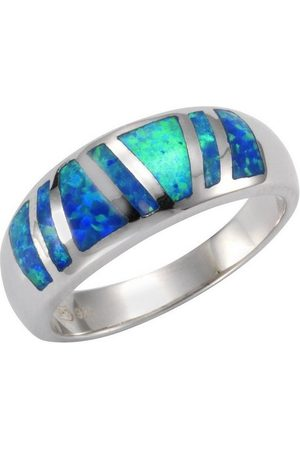 vivance collection Fingerring »925/- Sterling synth. Opal«, Ring