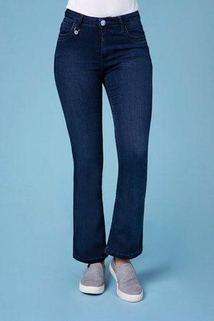 Blue Fire Bootcut-Jeans mit hohem Tragekomfort