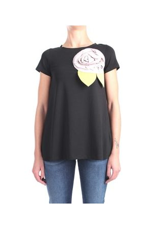 ROSE' A POIS T-Shirt DAINO Kurzarm Damen