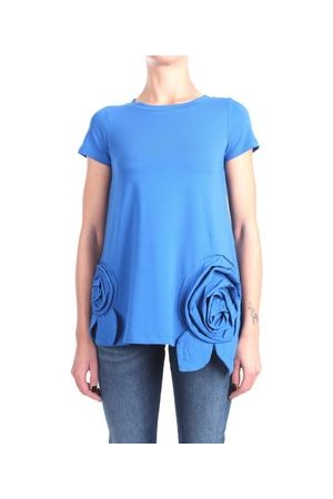 ROSE' A POIS T-Shirt PAOLA Kurzarm Damen