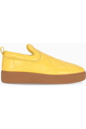 Bottega Veneta Yellow slip-on sneakers