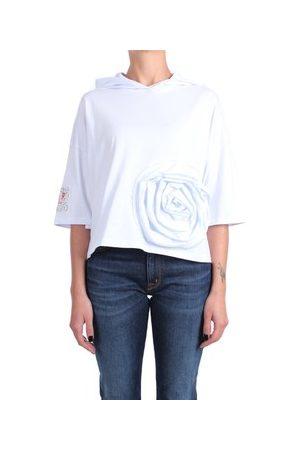 ROSE' A POIS Sweatshirt WHISKY Mit Kapuze Damen