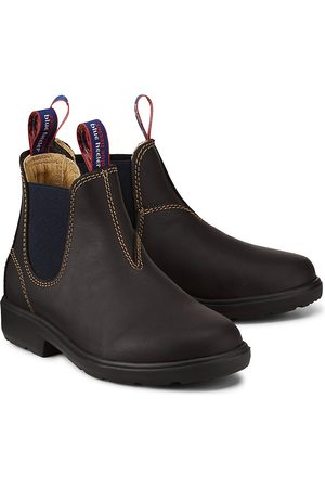 Blue Heeler Jungen Chelsea Boots - Chelsea-Boots Wombat in dunkelbraun, Stiefel für Jungen